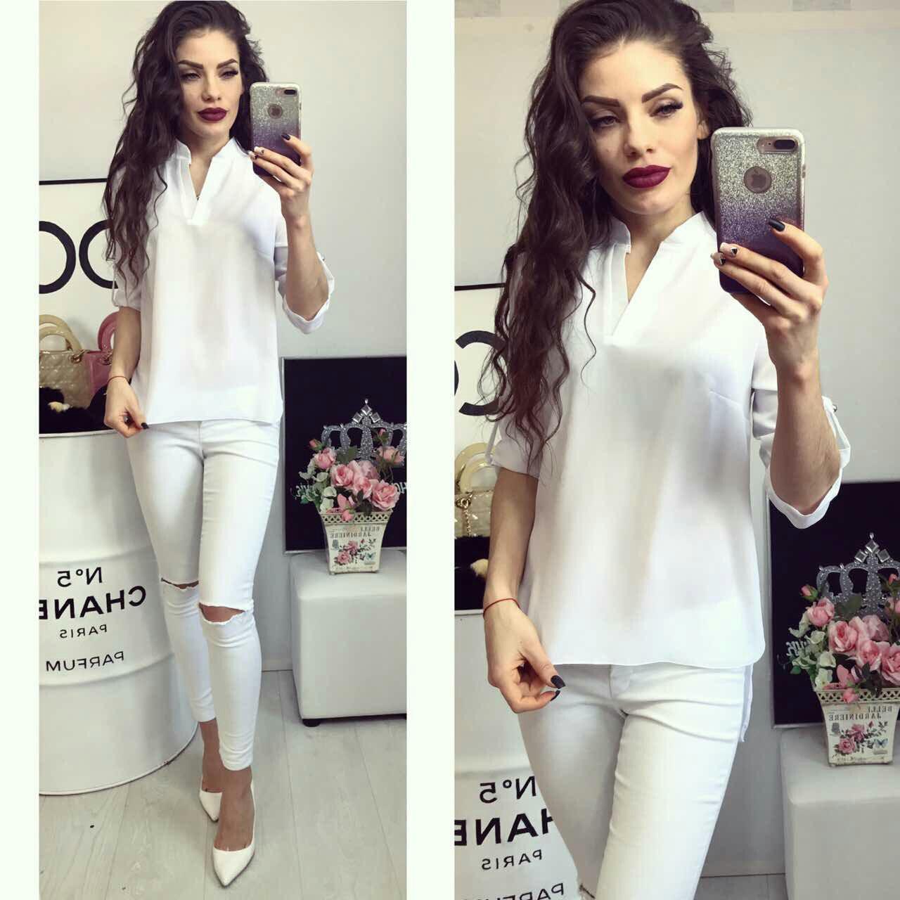 Блузка женская, модель 749, белый