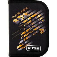 Пенал с наполнением Kite Education Transformers BumbleBee Movie TF19-622H-2, 1 отделение, 2 отворота
