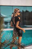 Невероятное платье в пайетки, фото 3