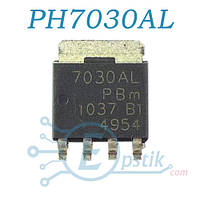 PH7030AL, mosfet транзистор N канал, 30В, 53А, SOT669