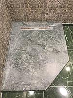 Душевой поддон из мрамора Verde Guatemala 30мм
