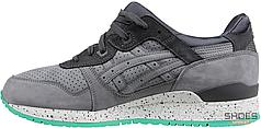 Мужские кроссовки Asics Gel-Lyte III Premium Nubuck Pack Grey H547L-1111, Асикс Гель Лайт 3