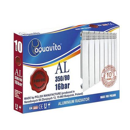 Алюминиевый Радиатор Aquavita 350х80 A 16 Бар