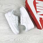 Женские кроссовки Nike Air Force (белые) , фото 4