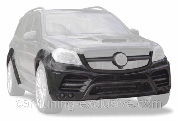 MANSORY Wide body kit for Mercedes GL-class X166