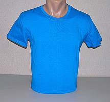 Мужская футболка однотонная М (46-48) раз хлопок (F-812)