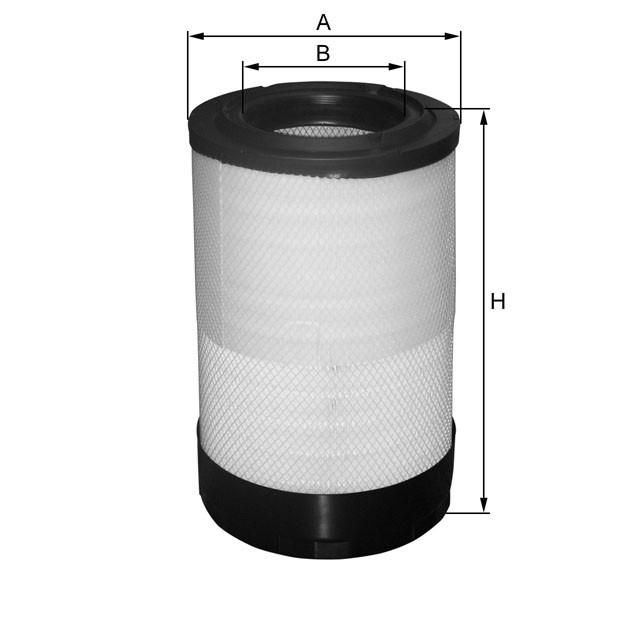 3C46-9601-AB, Фильтр воздушный основной (вставка CR0132) FORD