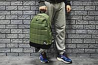 Рюкзак Nike Air молодежный стильный качественный, цвет зеленый хаки, фото 1