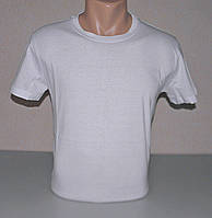 Мужская футболка однотонная М (46-48) раз хлопок (F-813)