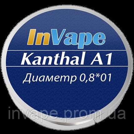 Проволока Кантал (плоский 0.8*0.1 мм), фото 2