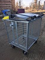 Контейнер для раздельного мусора сетка 1100 л