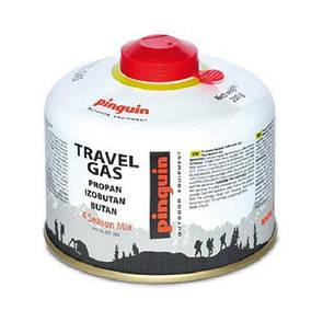 Туристический газовый баллон Pinguin 230 грамм. Туристичний газовий балон 230 грам.