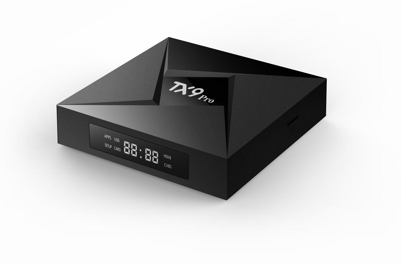 Приставка смарт тв TANIX TX9 PRO 3Gb + 32 Gb