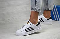 Женские спортивные кроссовки в стиле Adidas Superstar