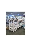 Вешалка для детской одежды на колесиках «Домик»