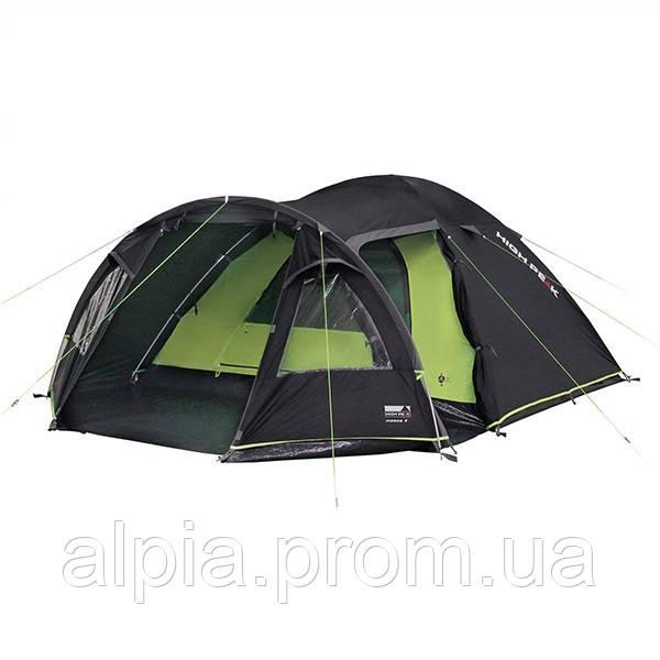 Четырехместная палатка High Peak Mesos 4 (Dark Grey/Green)