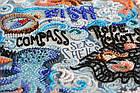 Наборы для вышивки бисером Тайны океана (31 х 42 см) Абрис Арт AB-684, фото 4