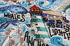 Наборы для вышивки бисером Тайны океана (31 х 42 см) Абрис Арт AB-684, фото 6