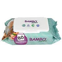 Влажные салфетки Эко Bambo Nature Baby 80 шт/уп