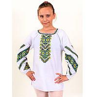 Детская вышитая блуза в размере 140-170