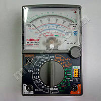 Мультиметр аналоговий SUNWA YX-360TRE-H (1000В, DC250мA, 20МОм, hFE, тест батарей, продзвонювання)