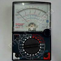 Мультиметр аналоговий SUNWA YX-360TRN (1000В, DC250мA, 20МОм, hFE, продзвонювання)