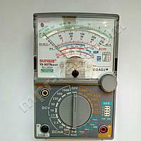 Мультиметр аналоговий SUNWA YX-360TRES-A-H (1000В, DC5A, 2МОм, hFE, звукова продзвонювання)
