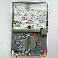Мультиметр аналоговий SUNWA YX-360TRES-B (1000В, DC500мA, 2МОм, hFE, звукова продзвонювання)