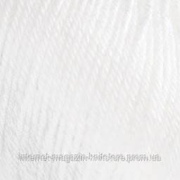 Пряжа Alize Baby wool Белый