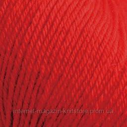 Пряжа Alize Baby wool Красный