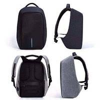 Рюкзак Bobby Антивор  серый с USB портом