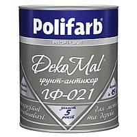 Грунтовка алкидная антикоррозийная Polifarb ГФ-021 DekoMal для металла 2,7 кг