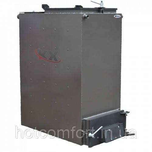 Твердотопливный котел Холмова 10 кВт (шахтный длительного горения) Bizon FS-10 Eko