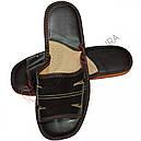 Скидка -35% на кожаные домашние тапочки, фото 2