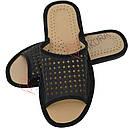 Скидка -35% на кожаные домашние тапочки, фото 8