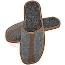 Скидка -35% на кожаные домашние тапочки, фото 9