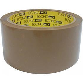Скотч упаковочный 48 мм х 20 м коричневый