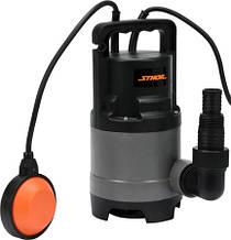 Насос погружной дренажный для грязной воды 500 Вт STHOR 79782 (Польша)