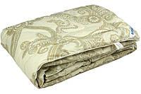 Шерстяное облегченное одеяло Нежность Руно Тик Деми 140*205