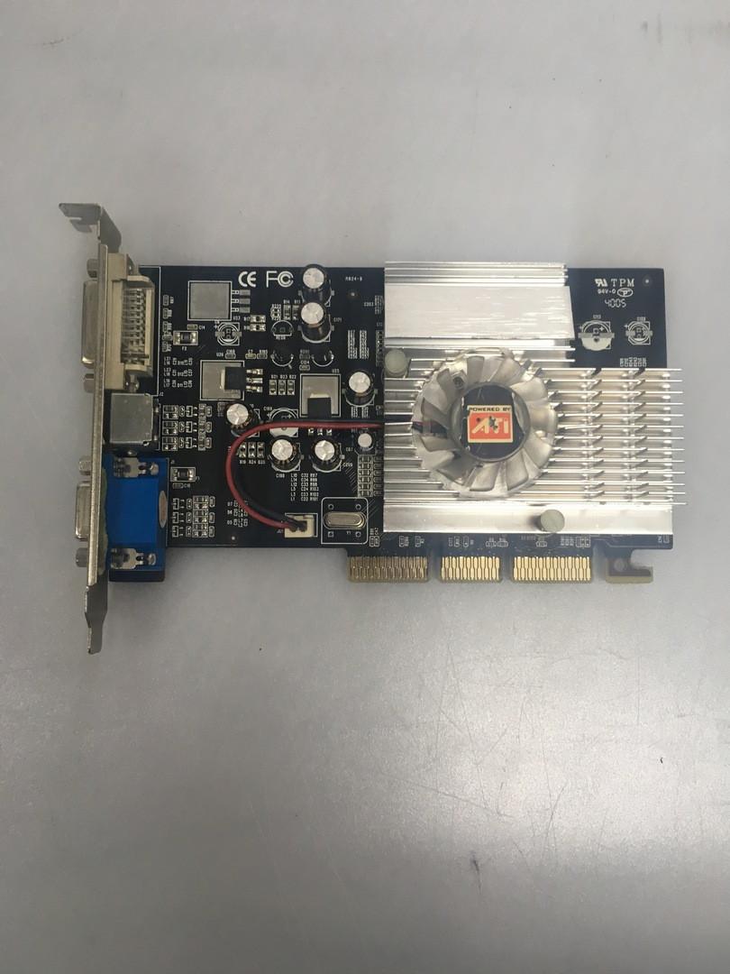 AGP видеокарта ATI Radeon 9250 128mb 128 бит