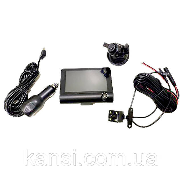 Відеореєстратор DVR SD319 на 2 камери, авто реєстратор