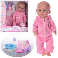 Пупс функциональный Baby Toby 30719-4 с аксессуарами ***