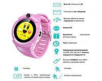 Детские смарт часы с камерой и GPS Q360