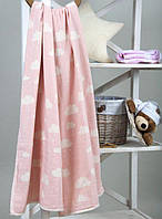 Детский плед-накидка Barine Cloud Throw Pink 130*170 розовый