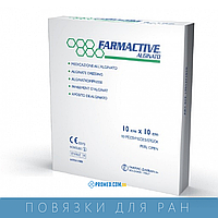Alginato (Farmactive) 10x10, повязка с кальций-альгинатом