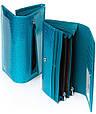 Лаковый кошелек, женский Sergio W501 light-blue, голубой, фото 2