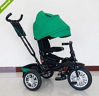 Трехколесный велосипед (аналог T-400) Turbotrike M 3646A-4, зеленый ***