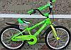 Велосипед двухколёсный 20 дюймов Azimut Stitch А салатовый***