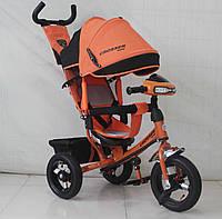 Трехколесный велосипед Azimut Crosser One  T1 AIR 2016 оранжевый***