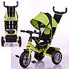 Велосипед трехколесный Turbo Trike M 3113-4A на большом надувном колесе***